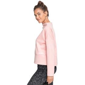 Roxy Casablanca Dream Fleece Top Women, rosa